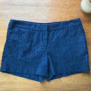 Cynthia Rowley Flower Lace Shorts